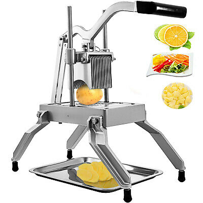 "Commercial Onion Dicer Tomato Slicer Vegetables Cutter With 3/16"" Blades Manul"