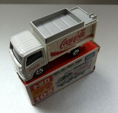 NEW IN BOX TAKARA TOMY JAPAN  Tomica  #105 COCA-COLA Route Truck free shipping