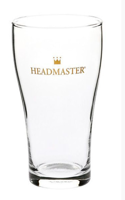 285ml Headmaster Nucleated Conical Beer Scooner Pot