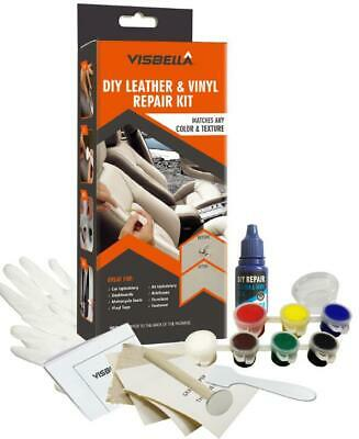 Liquid Leather Repair Kit for Sofa, Car Seat  Fix Tear, Scratch, Scuffs & Holes