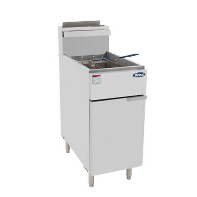CookRite 4 Tubes Gas Deep Fryer Standing Deep Fryers