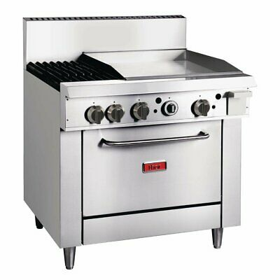 Thor 2 Burner Natural Gas Oven Freestanding Range with Griddle Plate