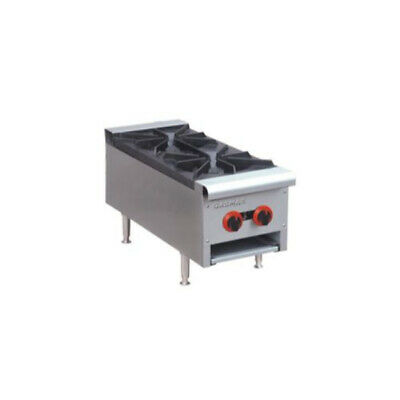 GasMax Cook Top LPG 2 Burners 300mm Wide with Flame Failure