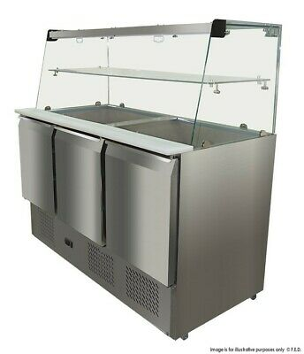 Thermaster Compact Workbench Service Fridge 400L