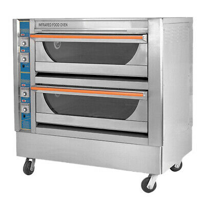 Bakermax Infrared High Performance Double Deck Oven