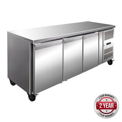 Thermaster Tropicalised 3 Door Gastronorm Bench Fridge