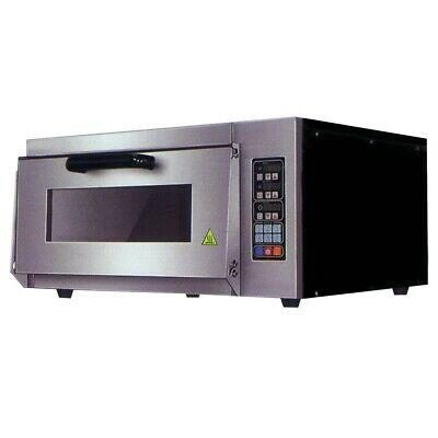 Bakermax Electric Pizza Oven Single Layer Deck Computer Version