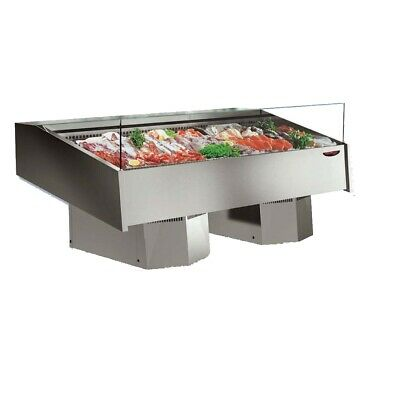 ItaliaCool Serve-over Seafood Display Refrigerated Temperature