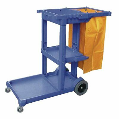 Cleaning Trolley Blue Jantex|