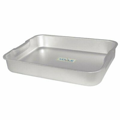 """Vogue Roasting Dish with Integrated Handles Alu. - 430x320x70mm 16.5x12x2.75"""""""