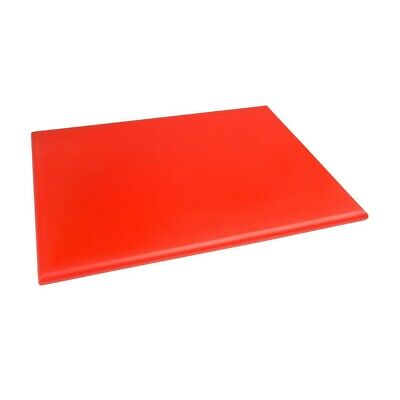 Hygiplas High Density Chopping Board Red - 24x18x1""