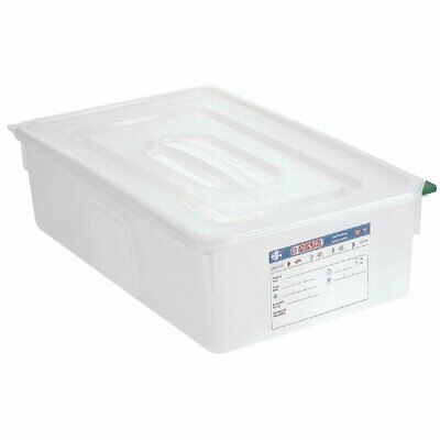 Araven Food Containers - GN 1/1 21Ltr with Lids (Box 4)