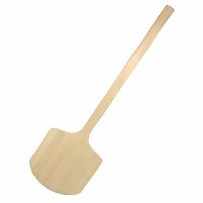 """Vogue Wooden Pizza Peel - 305x405mm 12x14"""" Blade Overall 965mm 36"""""""