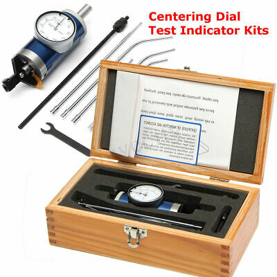 Dial Co-Axial 0-3mm Centering Dial Test Indicator Set Tool Accuracy 0.01mm+Box