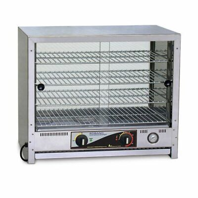 Roband Pie and Food Warmer 50 pies, doors both sides Pie Warmers and Heated