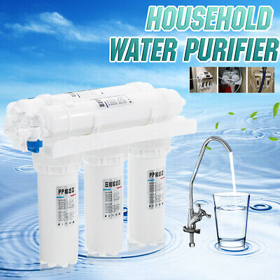 3+2 Water Purifier Filter System Drinking Tap Faucet Replace Home Kitchen Kit