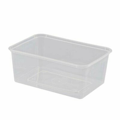 Rectangular Microwave Containers 1Ltr Non Branded|