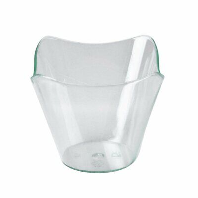 Square Bell Shape Dish - 57ml 50x58x58mm (Pack 25) Non Branded|
