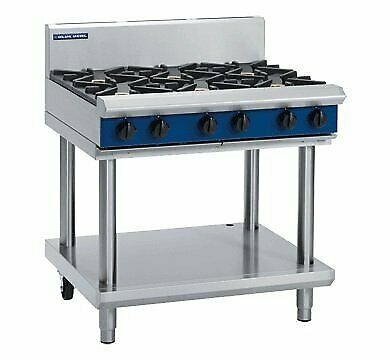 Blue Seal G516D/C/B/A-LS - 6 Burner Gas Cook Top On Leg Stand