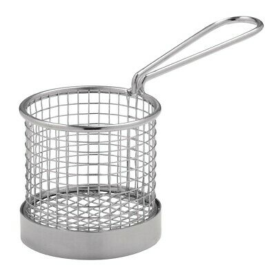 Presentation Basket with handle - 80dia x 80mm H Olympia|