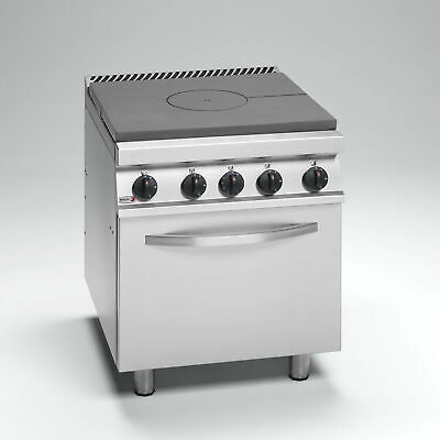 Fagor Cast Iron Solid Top Single Burner With Gas Oven 700 Series NG