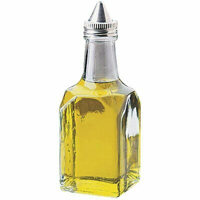 Oil/Vinegar Cruet Jar - Includes Lids (Box 12) Non Branded|