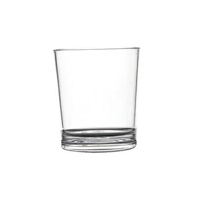 Polycarbonate Whiskey Glass - 230ml (Box 50) Non Branded|