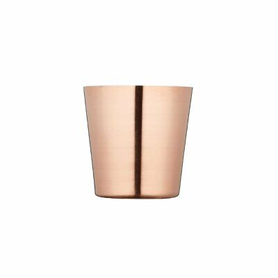 Copper Chip Cup - 85mm dia Non Branded|