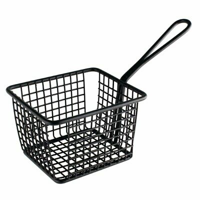 Olympia Square Presentation Basket Black Large - 80(H)x120(W)x100mmD