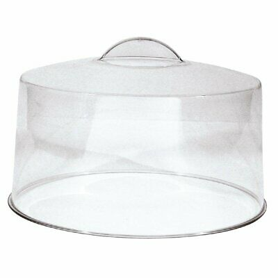 Moulded Handle Clear Cake Cover Non Branded|