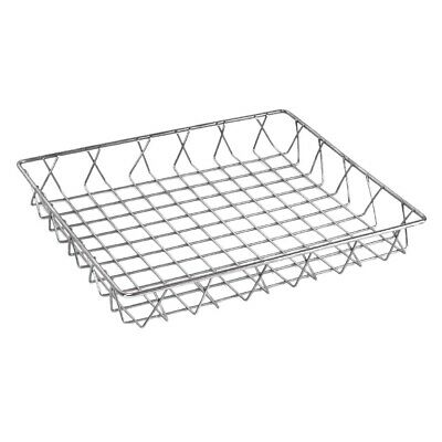 Olympia St/St Wire Display Basket - 350x300x50mm