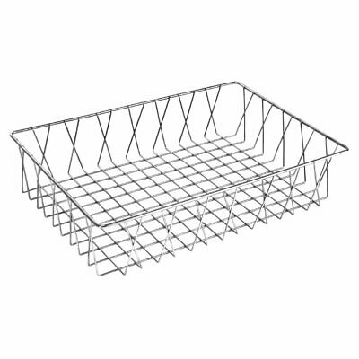 Olympia St/St Wire Display Basket - 450x300x100mm
