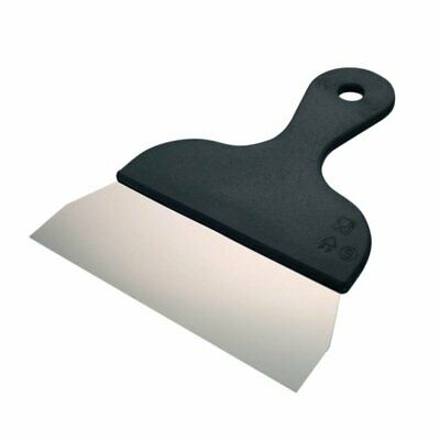 Schneider Stainless Steel Spatula 170mm with Black PP handle