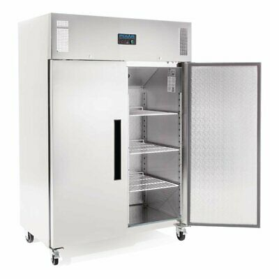 Polar G-Series 2 Door Upright Freezer Stainless Steel 1200Ltr