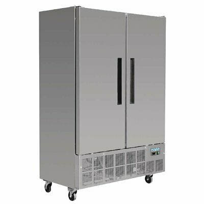 Polar G-Series 2 Door Slimline Freezer 960Ltr Solid Door Freezers