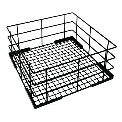 Vogue Wire High Sided Glass Basket -180(h)x500(w)x500(d)mm