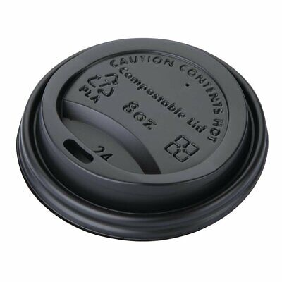 Fiesta Green Compostable Hot Cup Lids 225ml Pack of 50