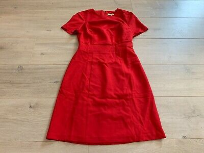 Lark & Ro Womens Short Sleeve Casual Stretch A-Line Sheath Dress Cocktail Size 2
