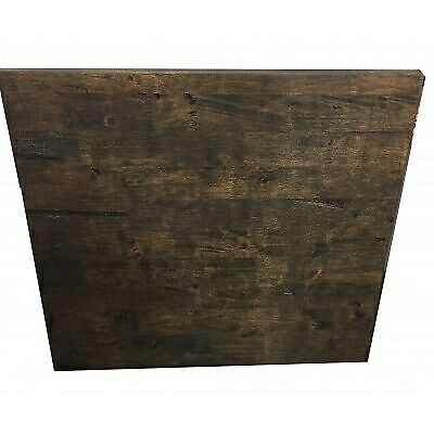 Montana Walnut Rubberwood Table Top - 2100 x 950 Cafe Ideas|