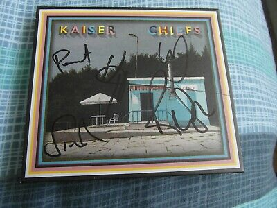 Signed Slipcase Kaiser Chiefs Duck Cd Album-Mint-Sold Out