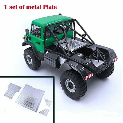 Brand New Back Bucket Metal Decorative Plate for AXIAL SCX10 II AX 90075 UMG10