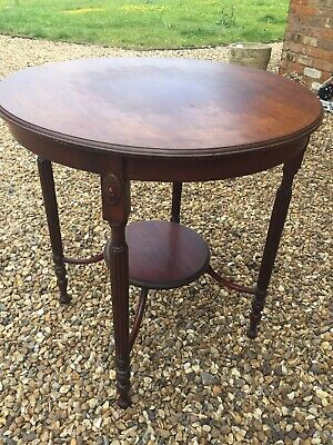 Antique Victorian Mahogany Small Table