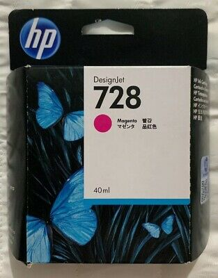 Compatible 1Pcs F9J65A Yellow Ink Cartridge for HP 728 DesignJet T730 T830