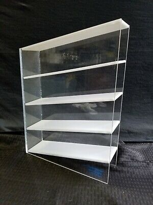 Cole Parmer Acrylic 4-Place Angled Laboratory Pipet Organizer Holder 63535-02