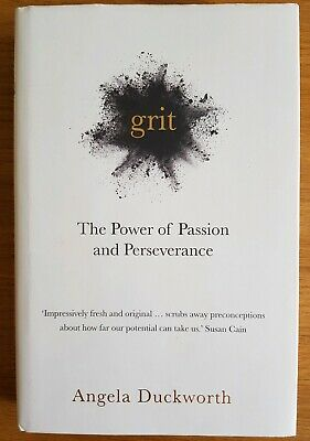 Grit: The Power of Passion and Perseverance by Angela Duckworth (Hardback, 2016)