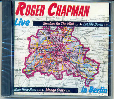 CD-Roger Chapman-Live in Berlin 70's eclectic hard rock psych