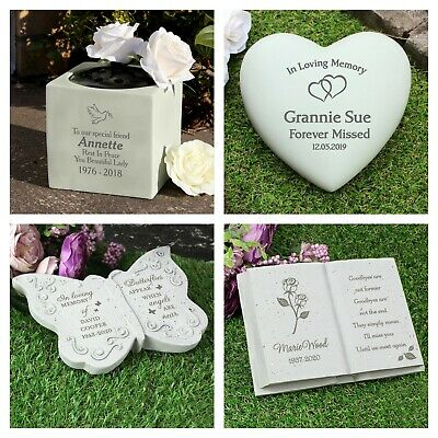 Loving Memorial Flower Vase Grave Pots Various Options Relatives Personalised