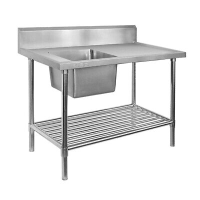 Modular Systems Single Left Sink Bench & Pot Undershelf