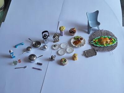 Doll House Miniatures - 1:12 - Cute Lot of Various Accessories