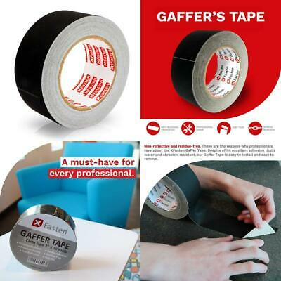 Professional Grade Gaffer Tape Residue Free Non Reflective